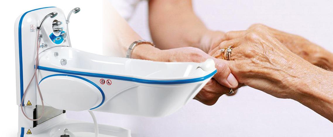 sollevatori per vasca da bagno per anziani e disabili