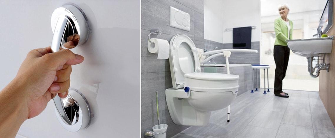 Come scegliere i maniglioni di sostegno/ sicurezza per il bagno dei disabili