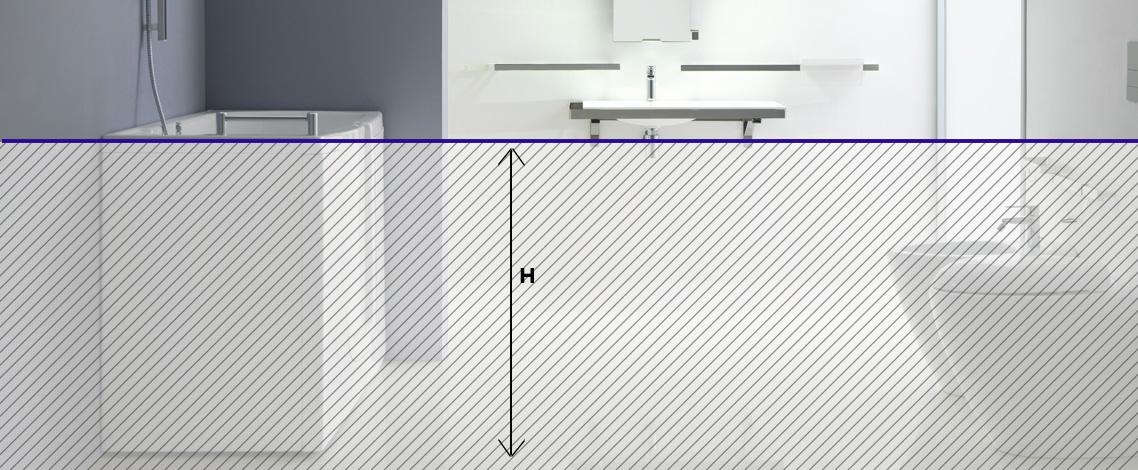 Tutte le altezze che un bagno per disabili deve rispettare - Misure bagno per disabili ...