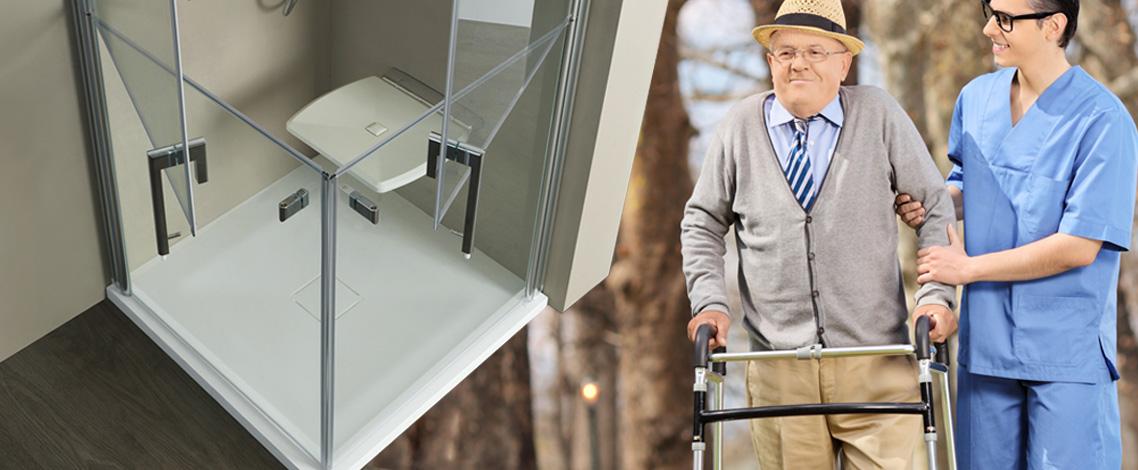 Box doccia per anziani e disabili perch conviene averlo - Box doccia anziani ...