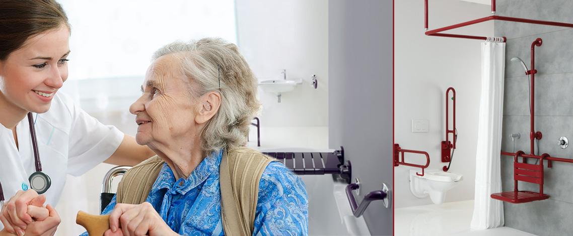 Sedie per vasca da bagno per anziani disabili