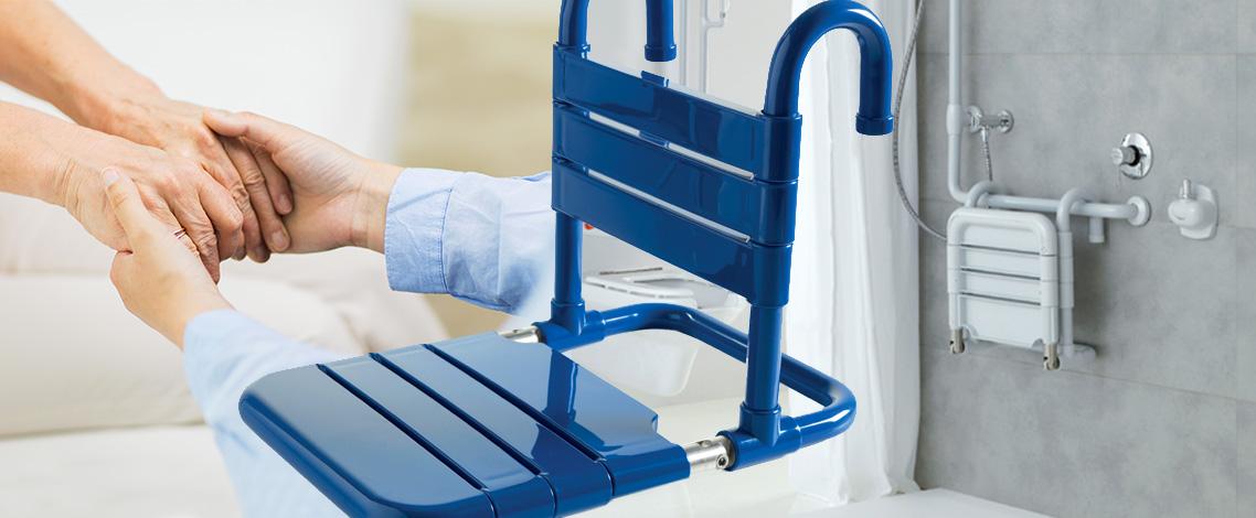 scegliere gli ausili doccia per disabili