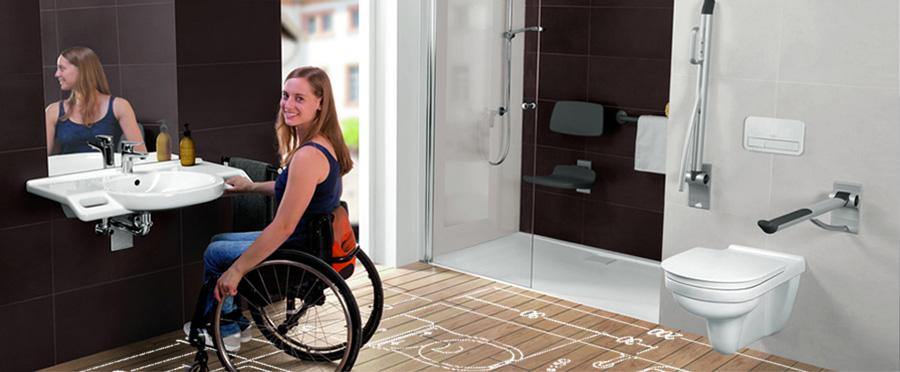 Bagni per disabili in casa
