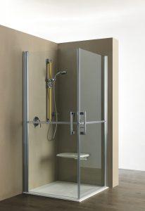bagno disabili con doccia