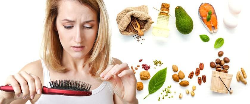Diradamento e caduta dei capelli: come una dieta giusta può essere d'aiuto